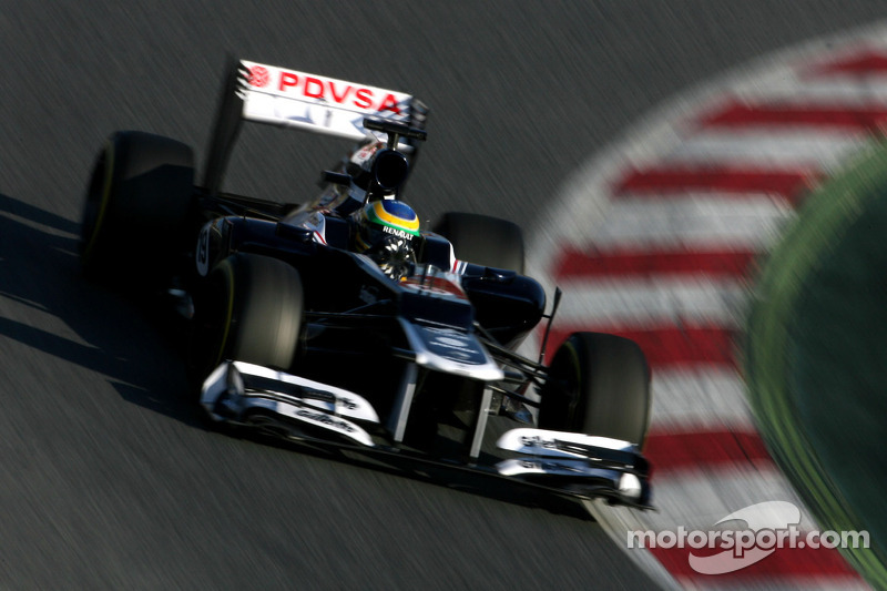 Williams Barcelona test II -  Day 3 report