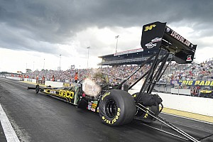 Morgan Lucas fastest Top Fuel qualifier at Gainesville