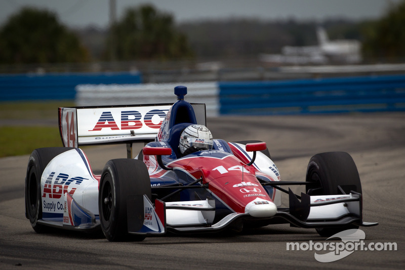 AJ Foyt Racing Sebring Open Test day 3 report
