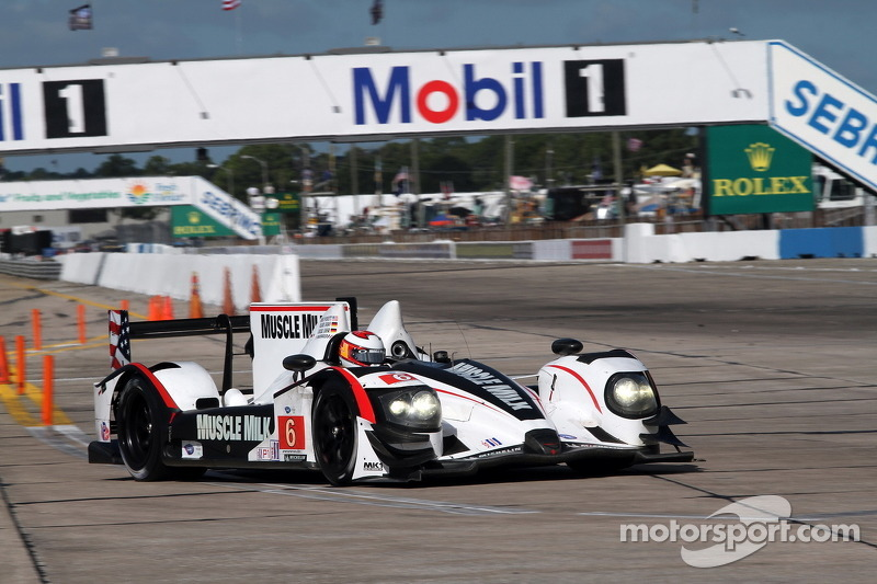 Muscle Milk Pickett Racing Sebring qualifying report