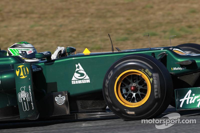 Caterham Australian GP - Melbourne race report