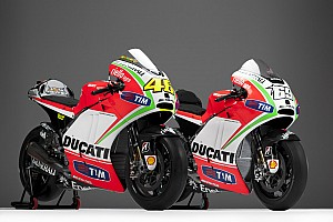 MotoGP Ducati unveil new GP12 with Rossi and Hayden