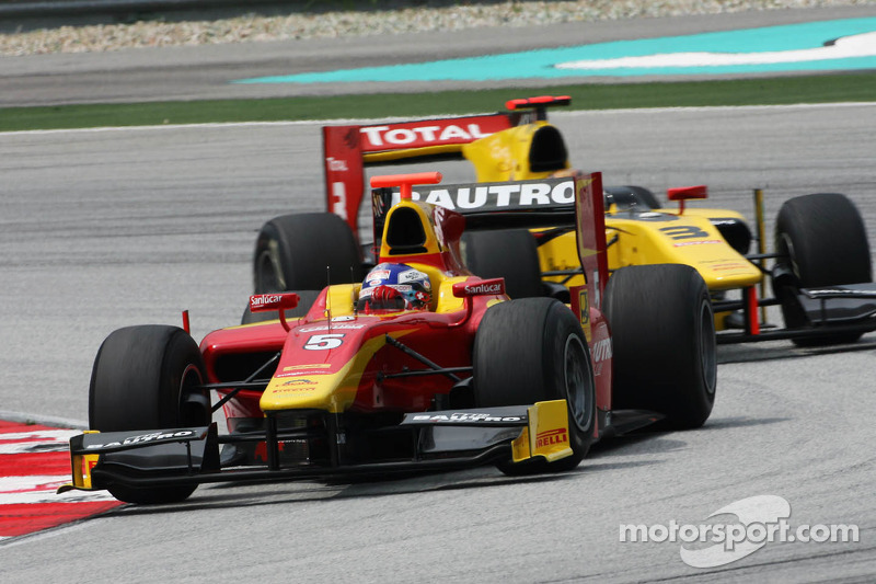Racing Engineering Sepang race 1 report