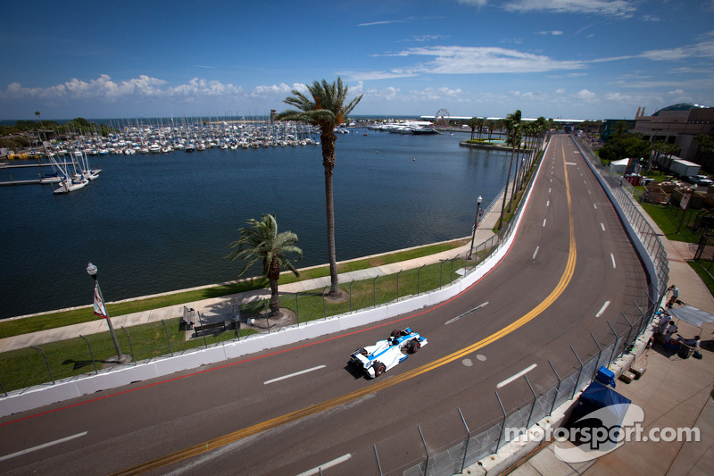 Sarah Fisher Racing St. Pete qualifying report