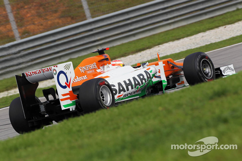 Force India Malaysian GP - Sepang qualifying report