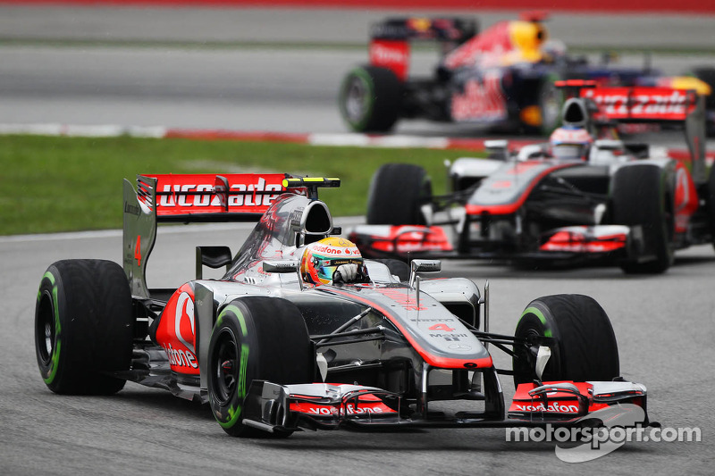 McLaren must improve race pace - Hamilton