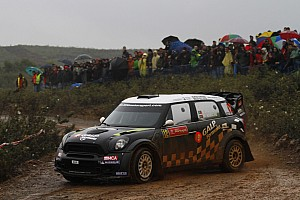Team MINI Portugal Rally de Portugal leg 2 summary