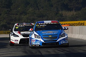 WTCC Muller and Menu take one race apiece