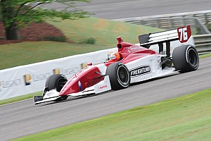 Indy Lights Jeffrey Mark Motorsport Birmingham race report