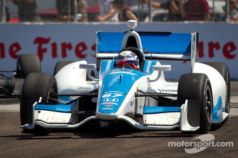 Newgarden completes rookie oval test at Texas