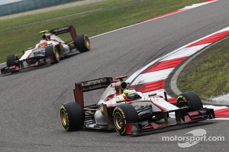 HRT Chinese GP - Shanghai race report