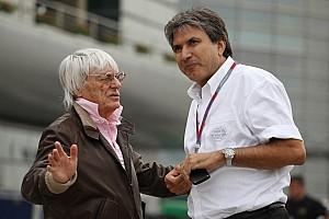 Formula 1 Ecclestone colleague Lattuneddu close to Molotov cocktail