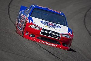 NASCAR Sprint Cup  Allmendinger grabs Kansas pole out of the hands of Harvick