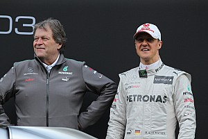 Haug disagrees with Schumacher's Pirelli blast