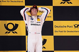 DTM Canadian hot-shoe Spengler lands first win for BMW at Lausitzring