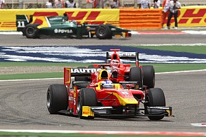 GP2 Racing Engineering Bahrain race 2 report