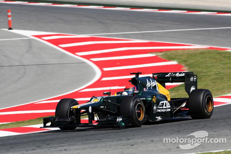 Caterham Spanish GP Friday report