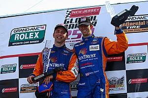 Grand-Am Angelelli and Taylor place SunTrust Corvette in NJMP victory lane