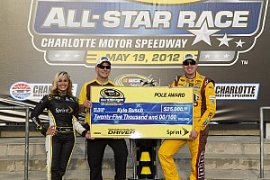 NASCAR Sprint Cup Busch and Toyota drivers on Charlotte All-Star race