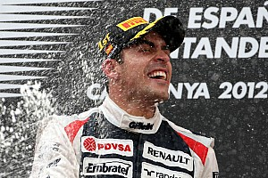 Formula 1 Williams - Maldonado: I am very lucky to have such amazing support from Venezuela