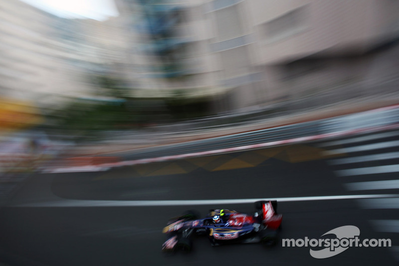 Toro Rosso has a frustrating Thursday in Monaco
