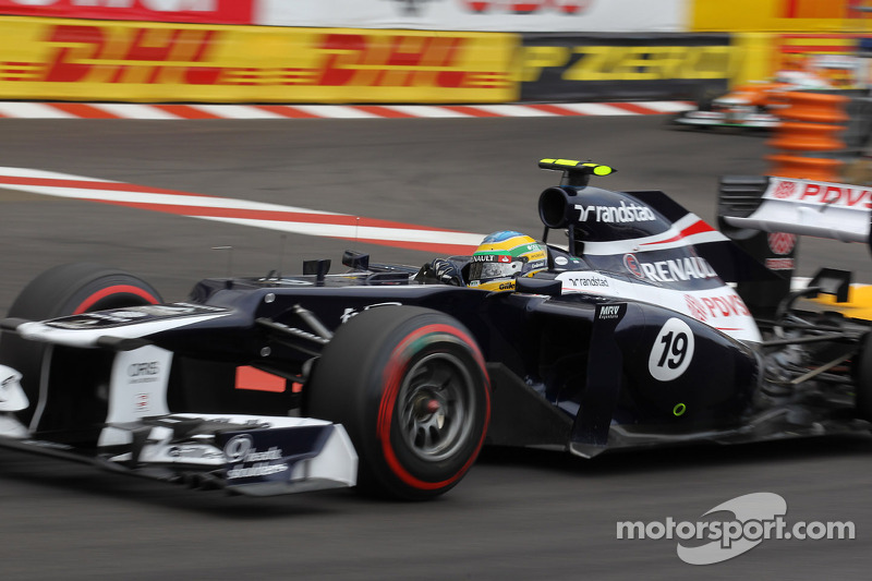 Bruno Senna saves trying Monaco day for Williams