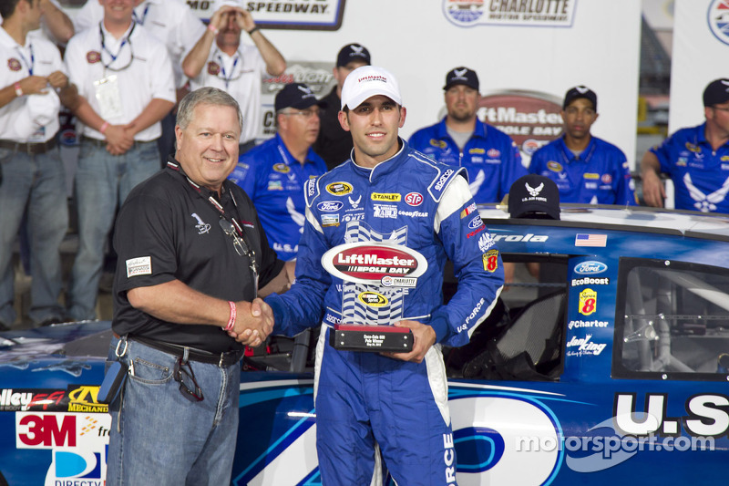 Almirola brings winning experience to Dover
