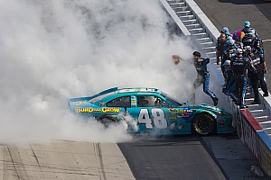 NASCAR Sprint Cup Johnson beats the Monster at Dover