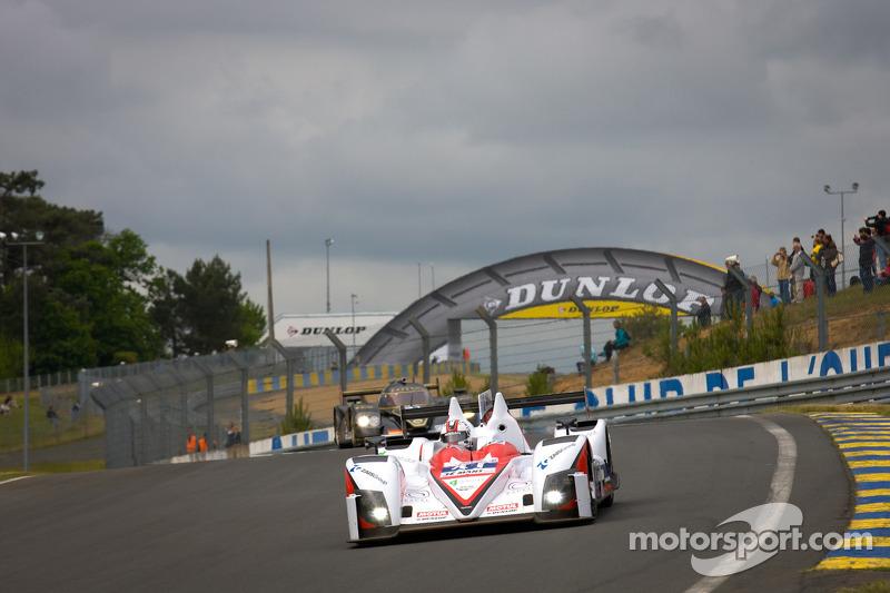 Mission accomplished for Greaves Motorsport at 2012 Le Mans Test