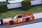 Pole Winner Logano, Toyota drivers talk about qualifyng at Pocono