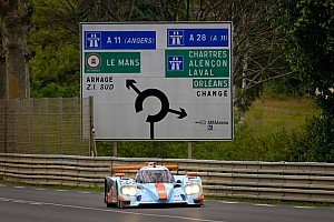 Le Mans Nissan sets the scene for a Le Mans thriller
