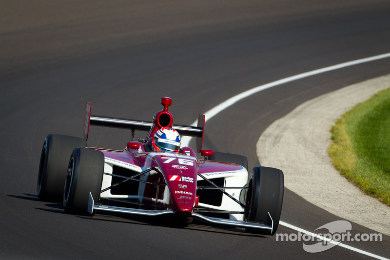 Juan Pablo Garcia completes first  Milwaukee race