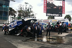Sunday was not John Force Racing's day at Bristol