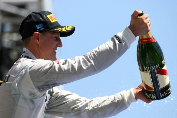 Schumacher keeps podium after stewards inquiry