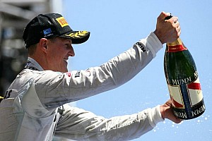 Formula 1 Race report Schumacher keeps podium after stewards inquiry