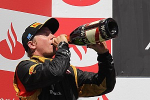 Kimi Raikkonen claims second position in European Grand Prix