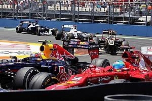 Formula 1 Breaking news Valencia hosted second most passes of 2012