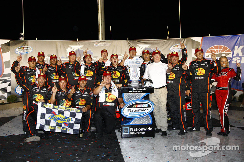 Austin Dillon takes the win for RCR at Kentucky