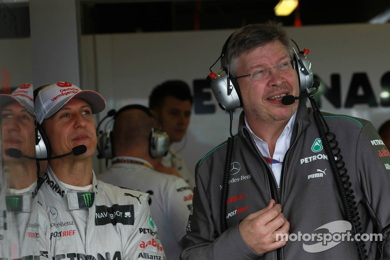 2013 Schumacher decision due within weeks - Brawn