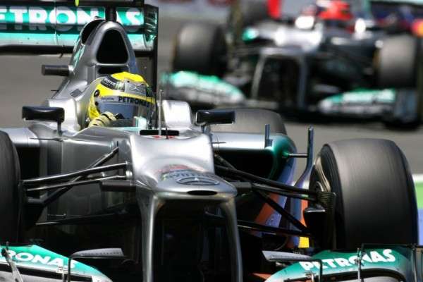 Rosberg says Mercedes 'very close' to title challenge