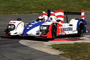 ALMS Race report Graf and Luhr Muscle to the win at Lime Rock Park