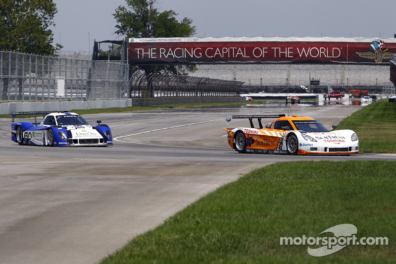 SunTrust Racing Corvette DP takes fast-lap honors at Indy test