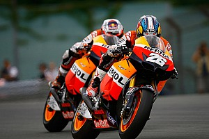 MotoGP Race report Superb win for Pedrosa but despair for Stoner