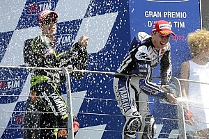 MotoGP Race report Sensational win for Lorenzo in thrilling Mugello MotoGP