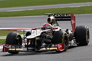 Lotus using 'double DRS' at Hockenheim