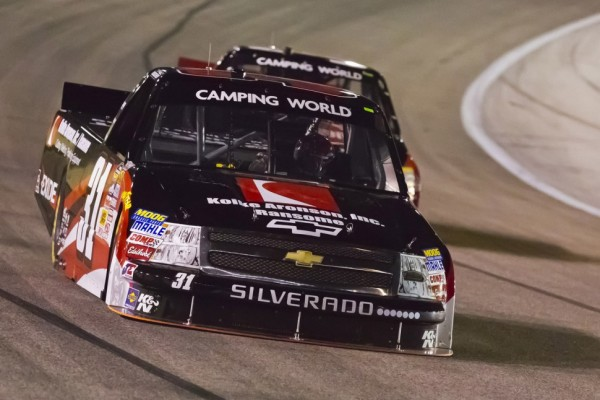 New carburetor gets Buescher to victory lane at Chicagoland