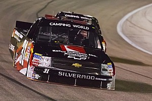 NASCAR Truck Race report New carburetor gets Buescher to victory lane at Chicagoland