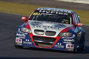 WTCC Race report BMW driver Tom Coronel scores valuable points in races at Curitiba