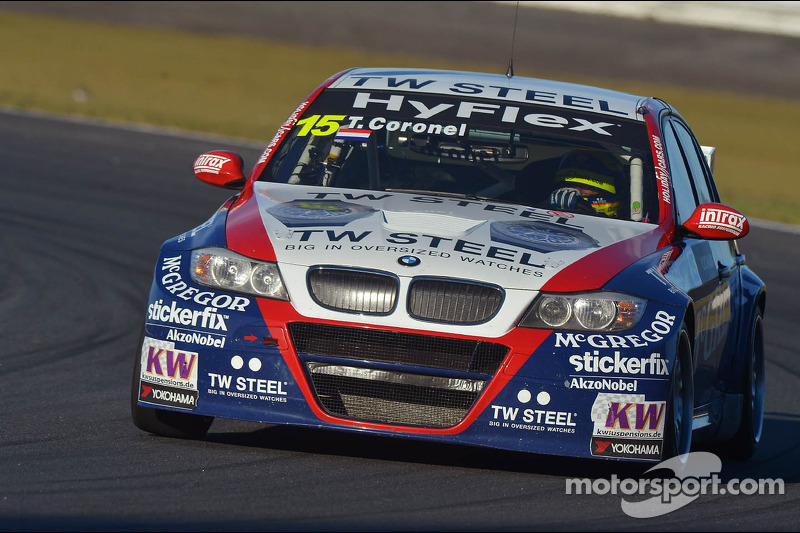 BMW driver Tom Coronel scores valuable points in races at Curitiba
