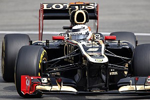 Lotus finished in a fighting fourth with Räikkönen at the German GP